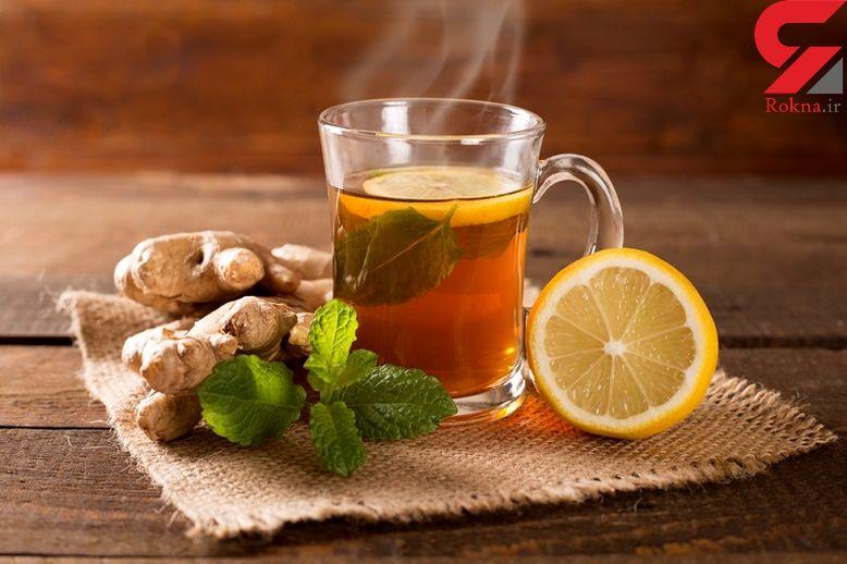 کنترل وزن با یک فنجان چای زنجبیل