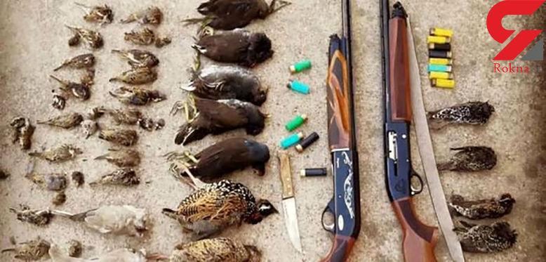 2 گروه شکارچی غیرمجاز در شوشتر دستگیر شدند