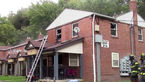 پسر بچه 4 ساله خانه را آتش زد + عکس