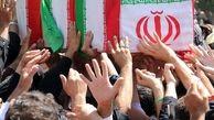 تشییع پیکر شهید امنیت «سروان رضا صیادی» در شوش