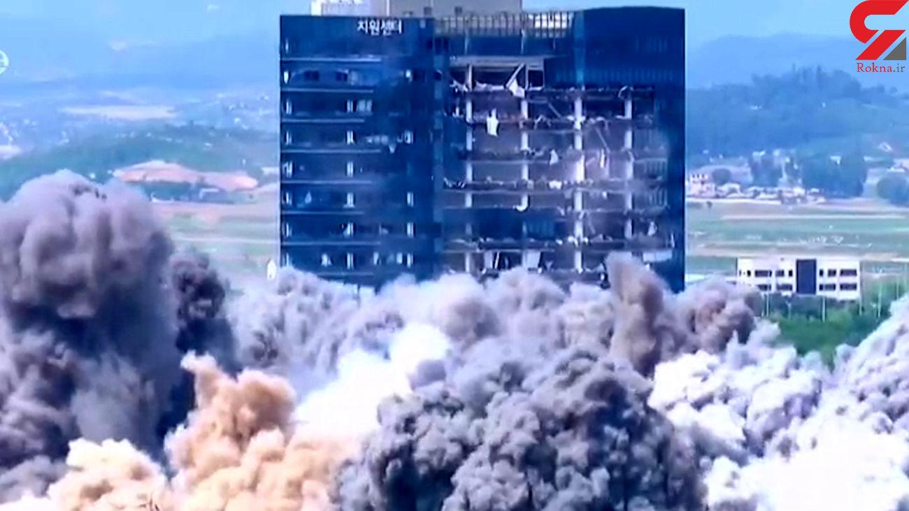 کره شمالی کره جنوبی را به حمله نظامی تهدید کرد + فیلم