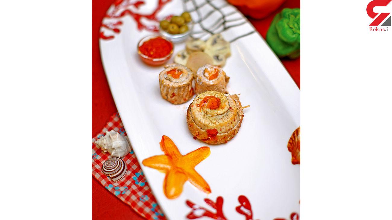ماهی صدفی با سس گوجهفرنگی و قارچ / آشپزی کرونایی در قرنطینه