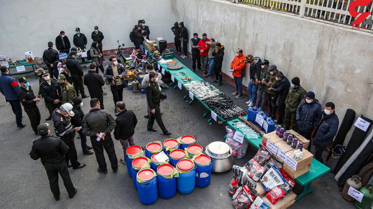 بازداشت 513 دزد تهرانی در عملیات مرصاد پلیس