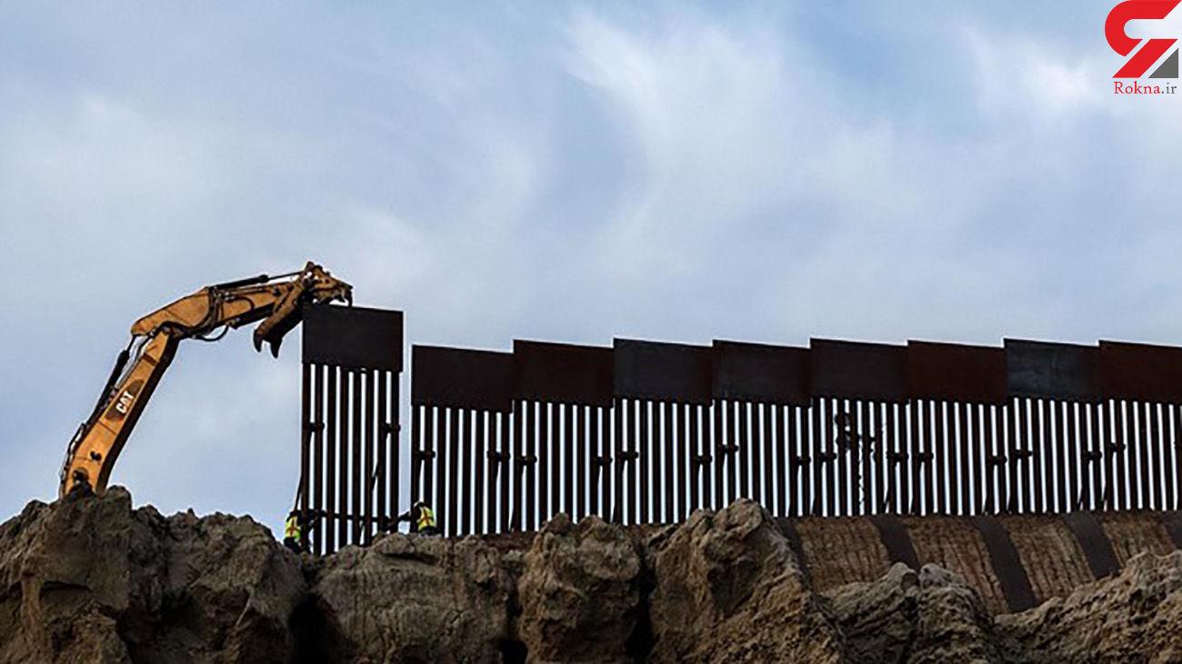 دولت بایدن دیوار مرزی ترامپ را ادامه می دهد