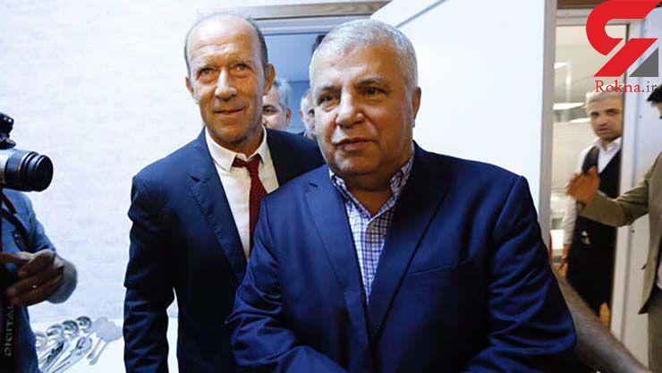 نشست خبری مشترک علی پروین و سرمربی جدید پرسپولیس / درخواست عجیب پروین از خبرنگاران