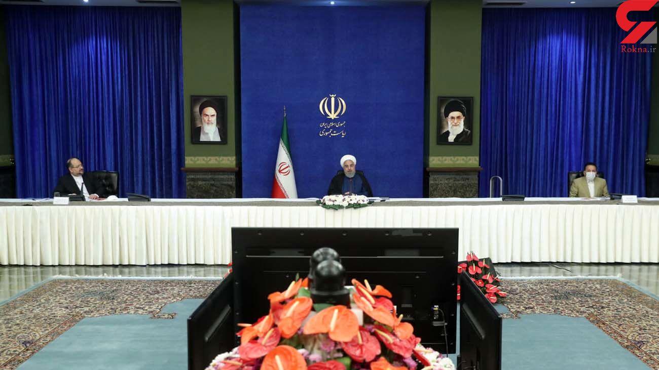 روحانی: دولت به ایجاد متوسط سالانه 555 هزار شغل افتخار می کند