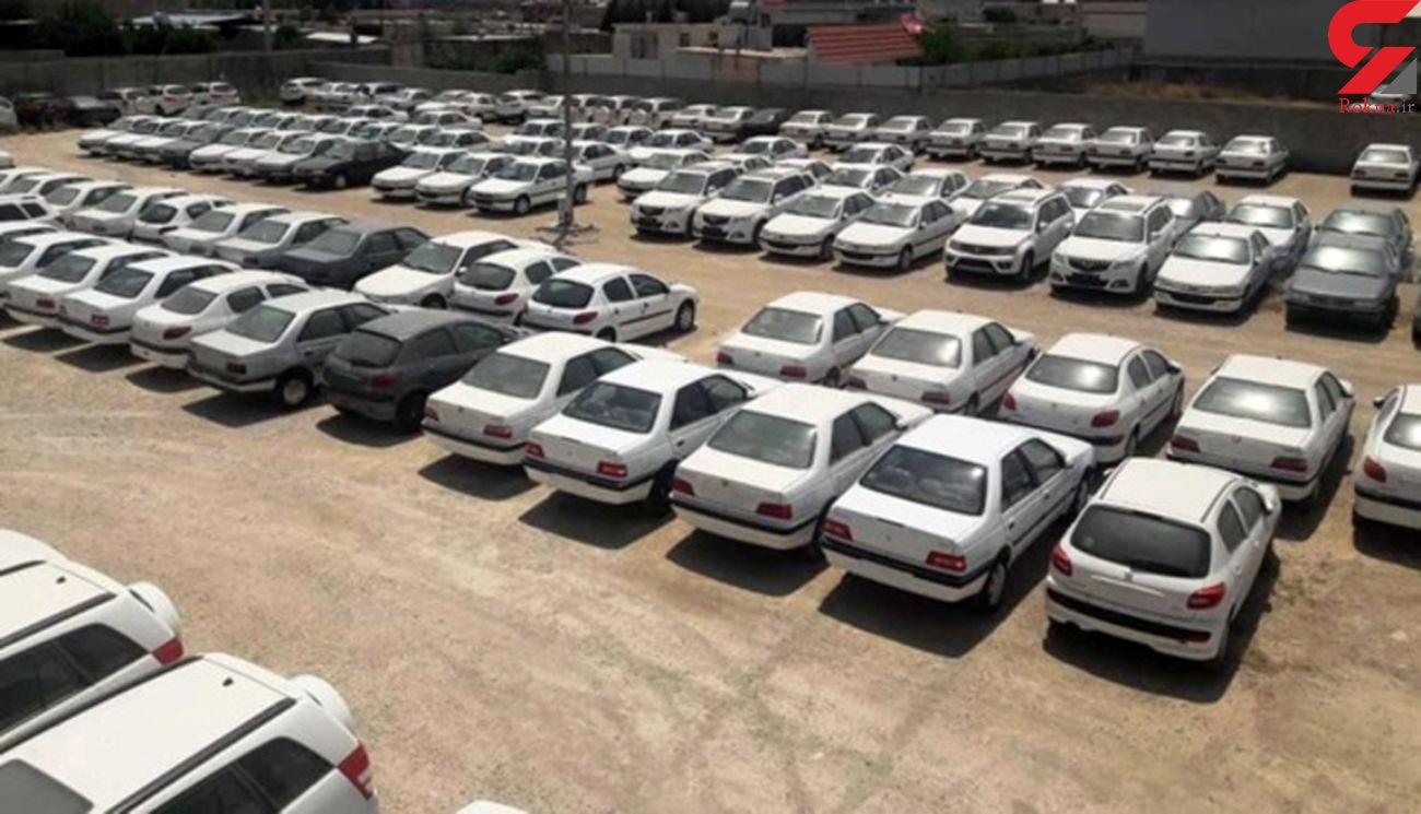 کشف یک تریلیونی خودروهای خاک خورده در 13 پارکینگ تهران
