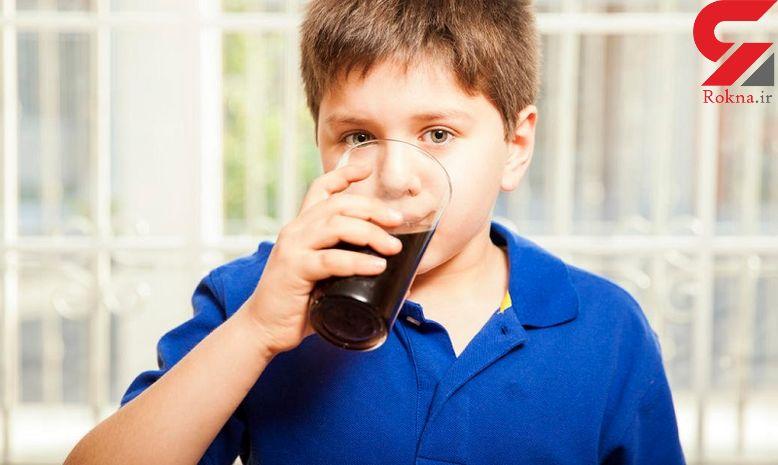 رفتارهای پرخاشگرانه کودکان به این نوشیدنی بستگی دارد