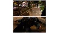 عکس 16+ /  کشته شدن مرد اردبیلی توسط یک زن و مرد در مقابل دانشگاه / شب گذشته رخ داد