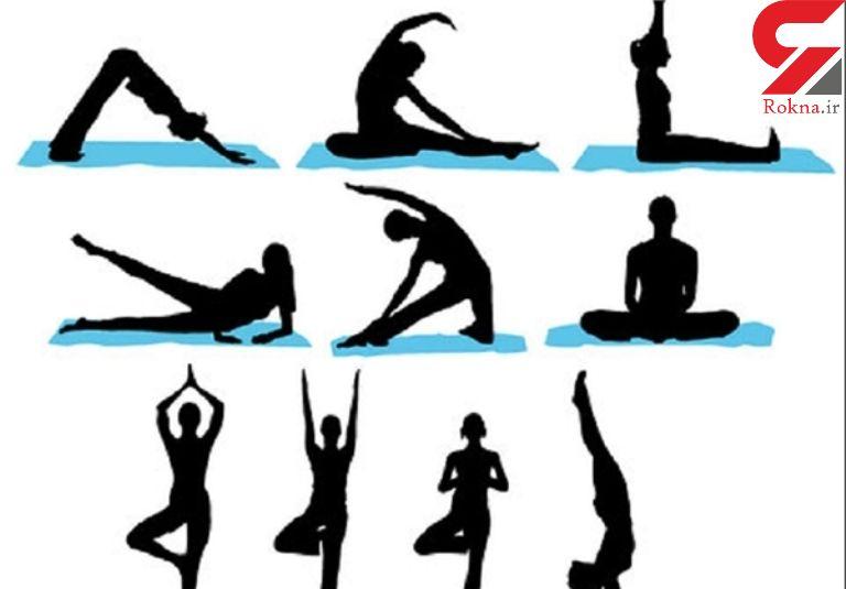 تسکین کمردرد با این ورزش های یوگا