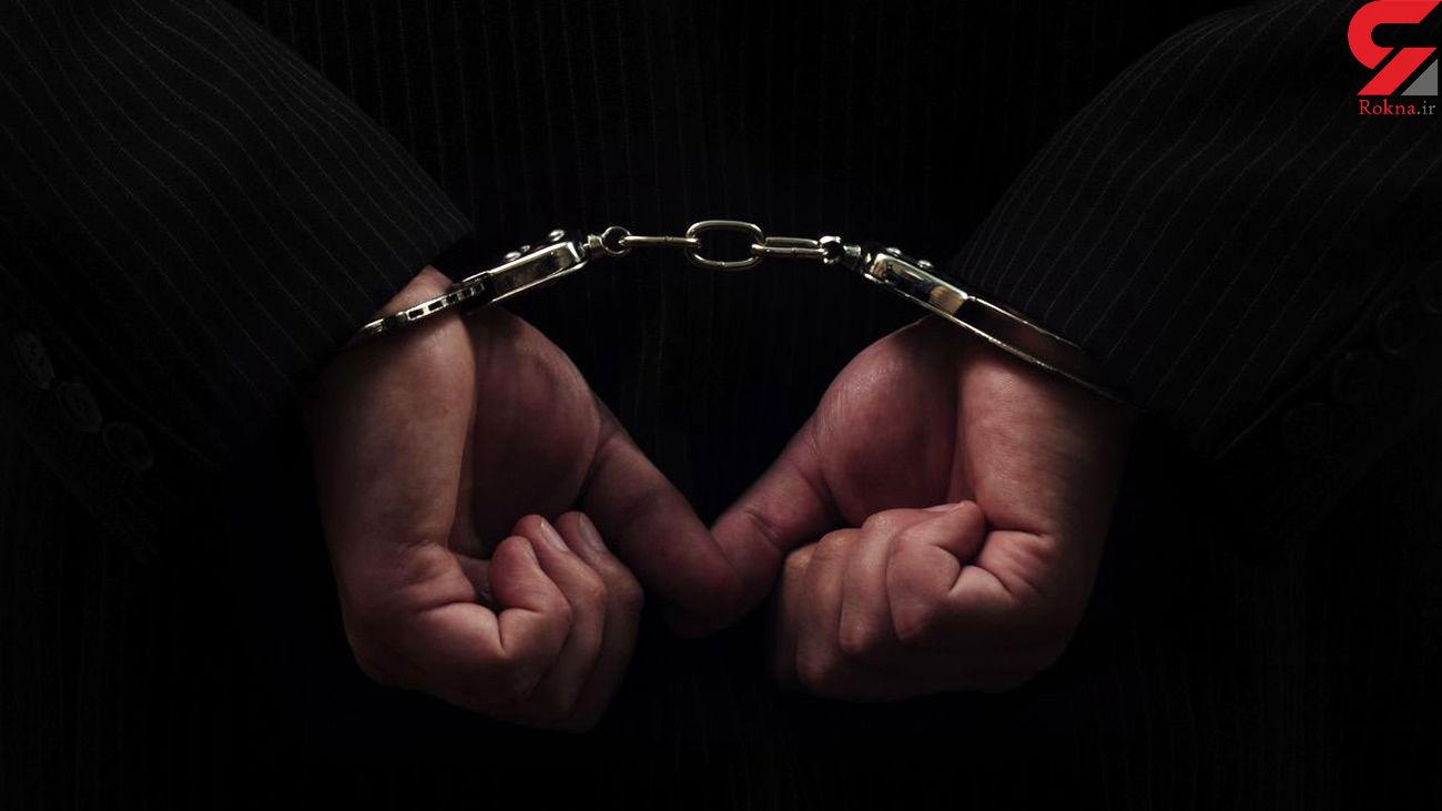 دستگیری سارق تابلوهای اداره گاز در شهرستان ابهر