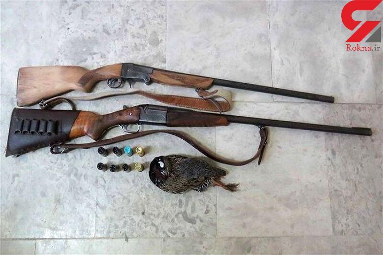 دستگیری 25  شکارچی و 3 سارق در گنبدکاووس