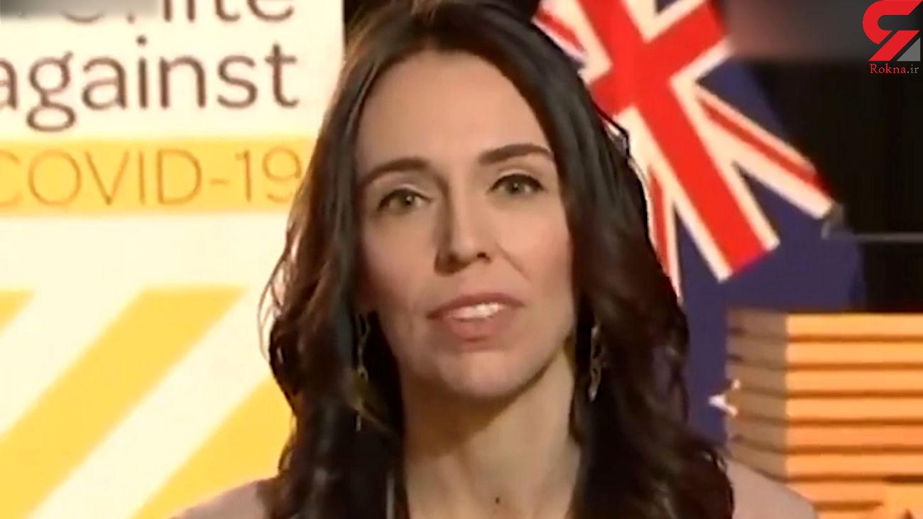 واکنش عجیب خانم نخست وزیر در زمان زلزله / او در برنامه زنده تلویزیونی چه کرد ؟ + فیلم