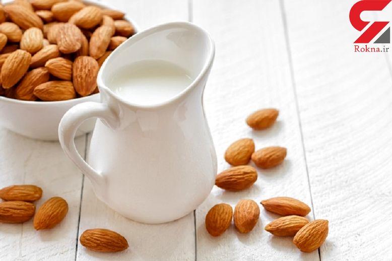 زنان با آرایش خداحافظی کنید/اهمیت مصرف شیر بادام