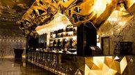 گران ترین نوشیدنی عرب ها در رستورانی از جنس طلا+تصاویر