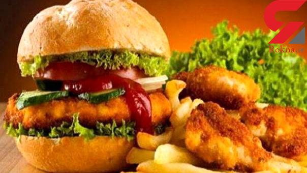 افزایش سرطان با مصرف همبرگر و پیتزا