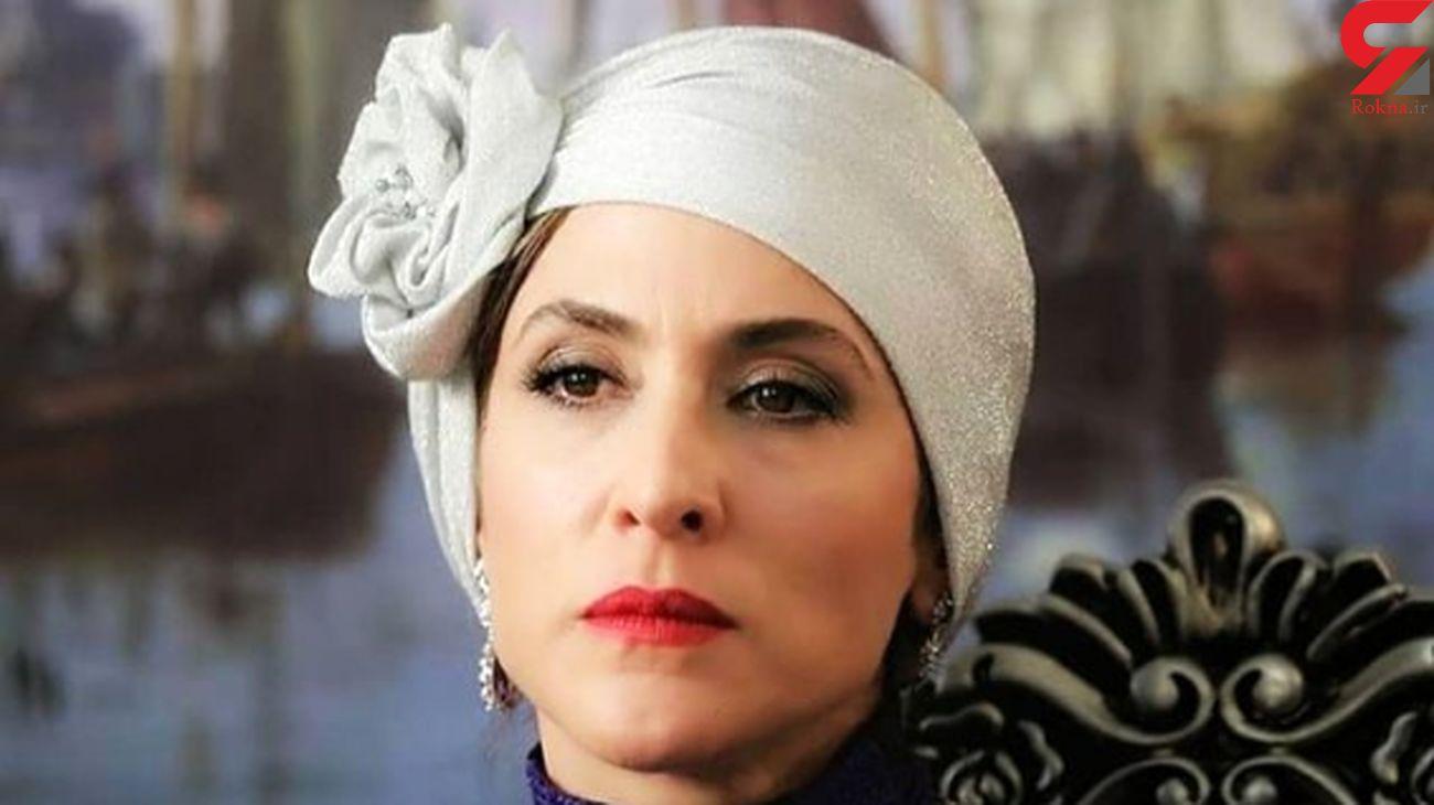 مسخره کردن شخصیت ژاله دارکولا ،توسط بازیگر زن