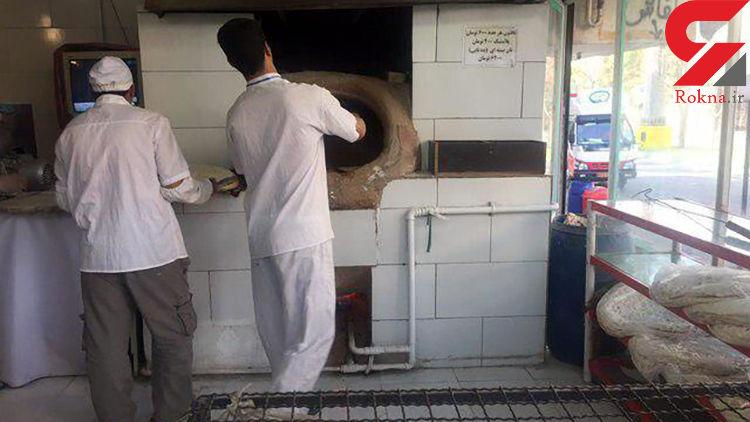 محکوم شدن ۲ نانوایی در کاشان به دلیل کم فروشی