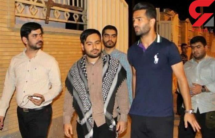 حضور مسعود شجاعی در ادوی جهادی آبادان + عکس