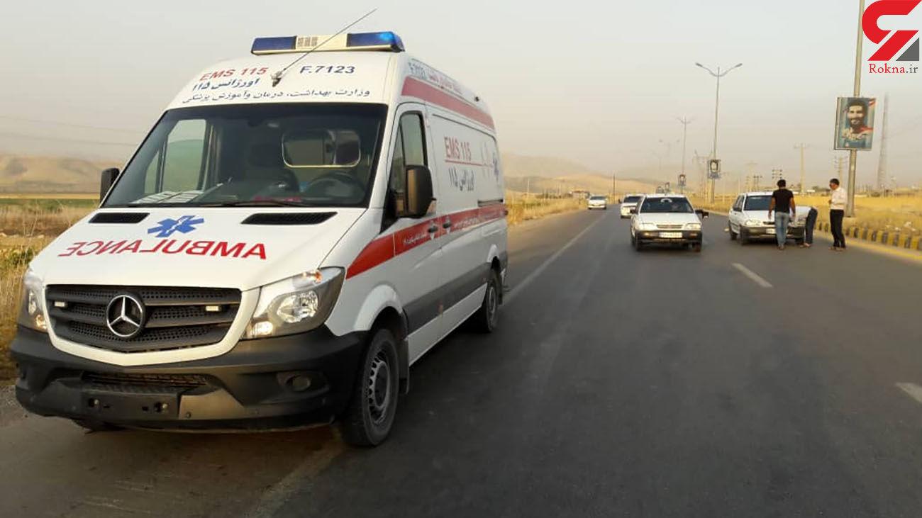 تصادف خونین در محور گچساران به شیراز با 7 مصدوم
