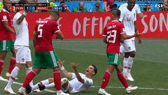 بی شرمانهترین تمارض جام جهانی ۲۰۱۸ را کدام بازیکن انجام داد؟ + عکس