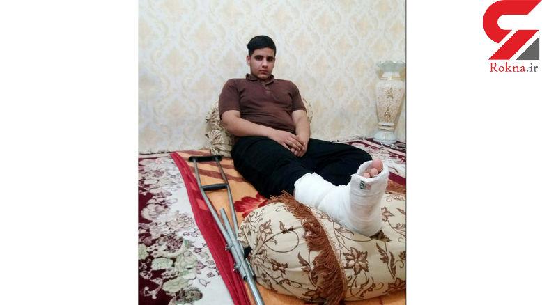 کوتاهی مدیر مدرسه در انتقال دانش آموز به بیمارستان / خانواده شکایت کردند +عکس