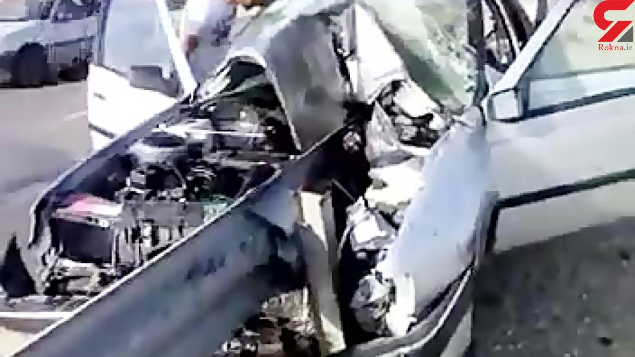 قطع پای دختر 10 ساله در ساوه / هلیکوپتر امداد وارد عمل شد