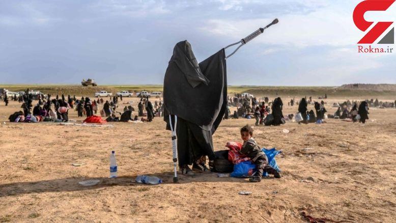 ماجرای داعشی هایی که با چادر و عصا گریختند +عکس