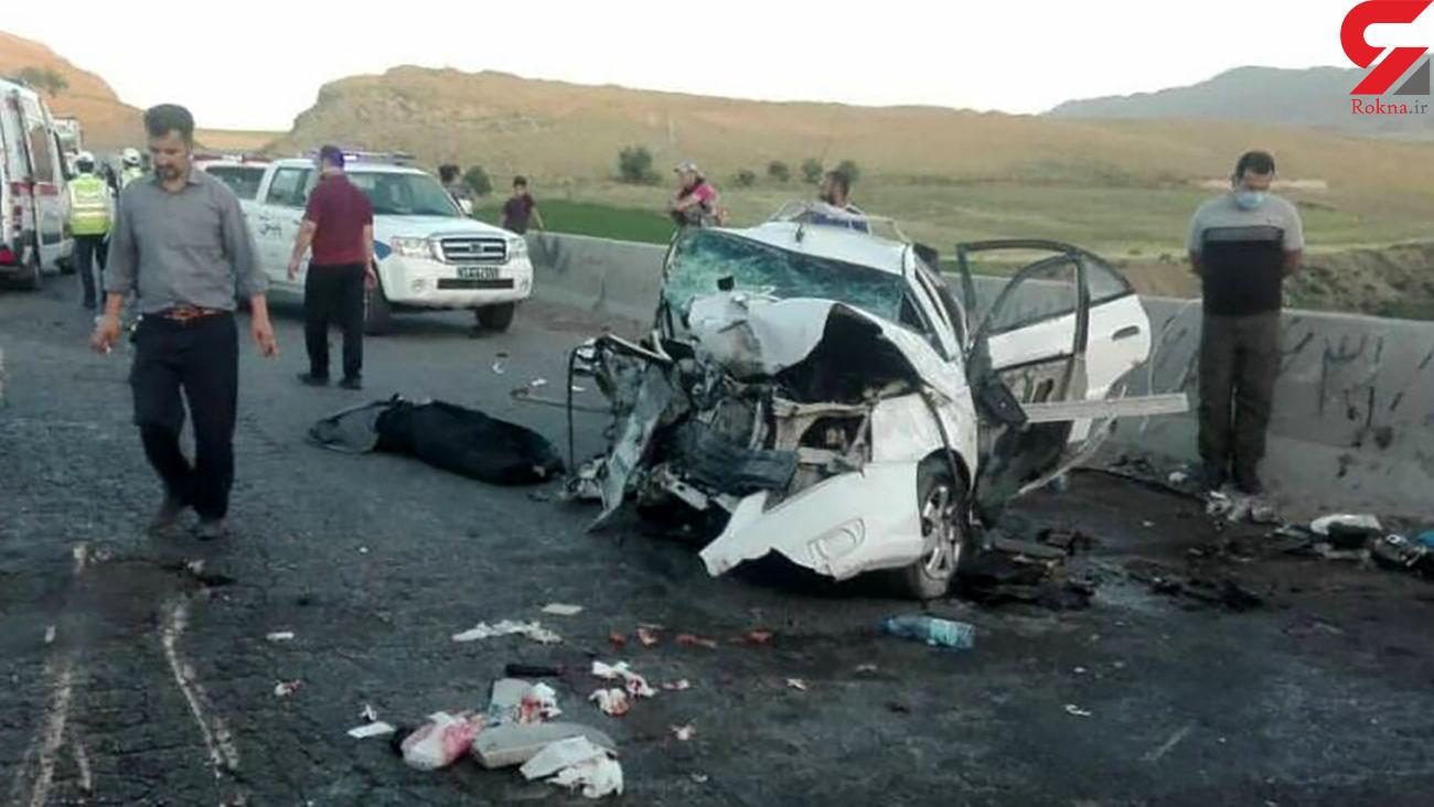 تصادف زنجیرهای در سبزوار با 2 کشته / صبح امروز رخ داد