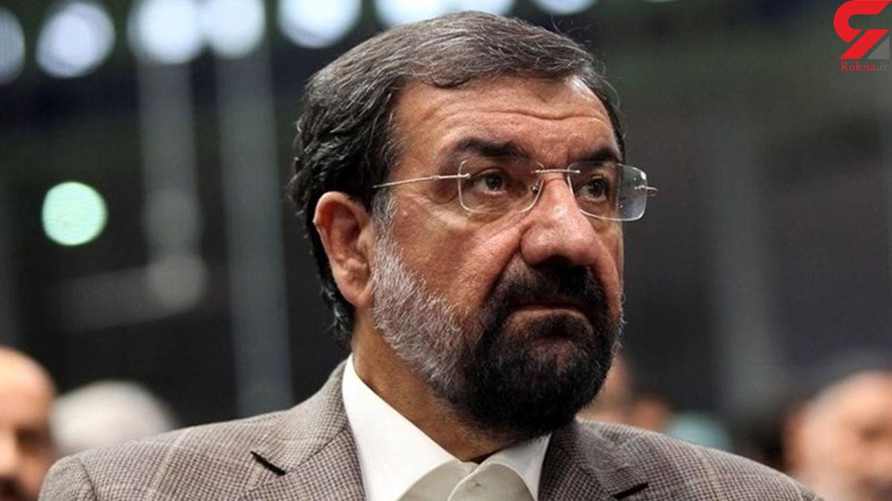 محسن رضایی : مردم ! مشکلات شما با حرف های مفت و حرف درمانی حل نمی شود