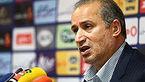 آغاز نشست خبری رئیس فدراسیون فوتبال