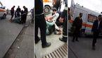 انفجار پمپ گاز اتوبان پاسداران تبریز+ فیلم و عکس