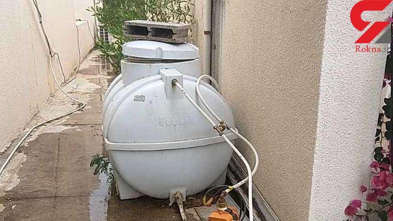 شکستگی خط لوله آب شبکه آبرسانی کیش را آلوده کرد