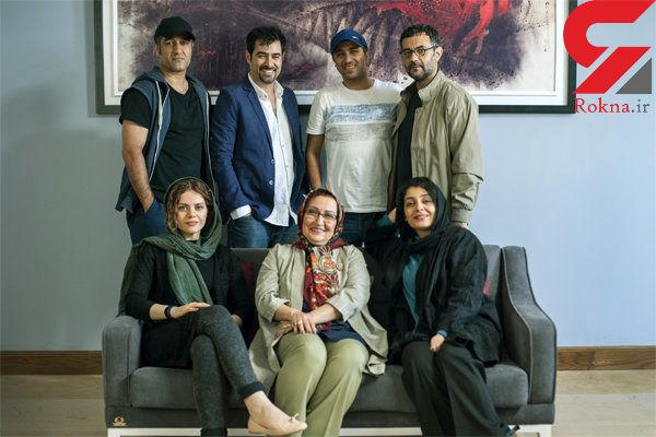 شهاب حسینی و ساره بیات در لابیرنت + عکس