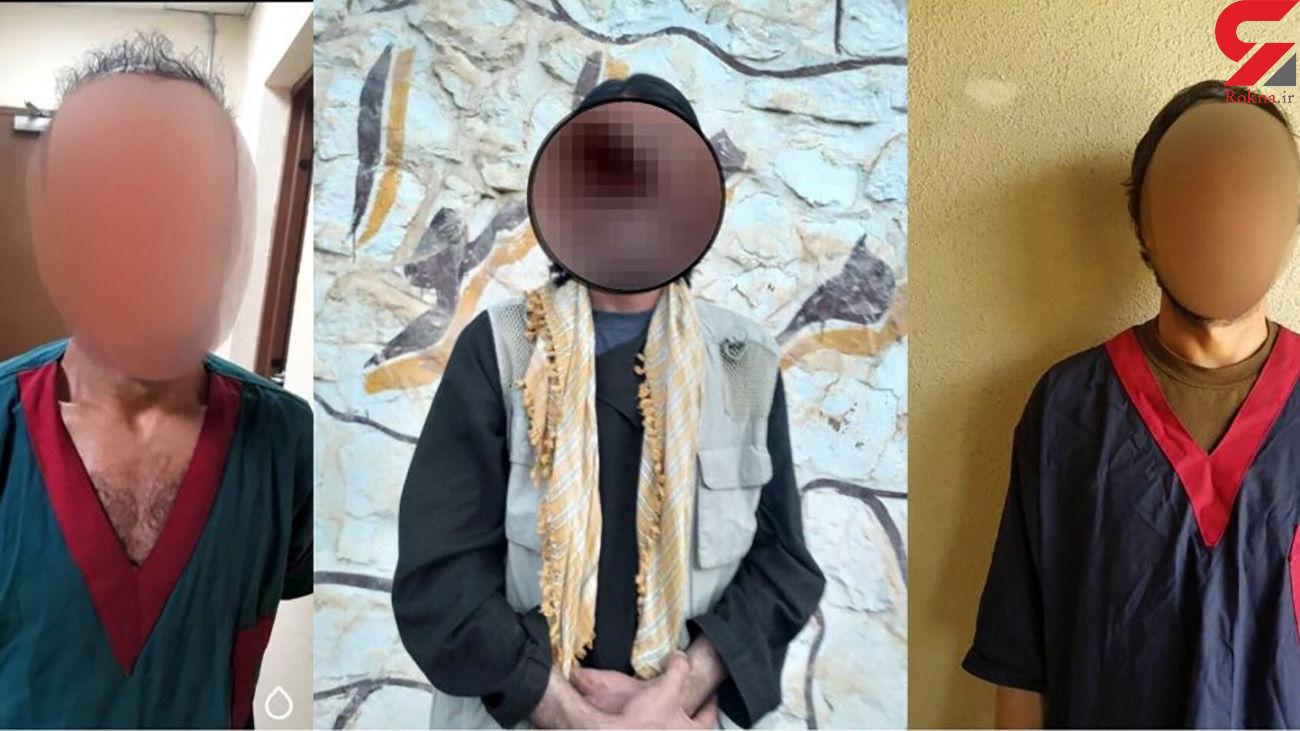قتل زن جوان وسط خیابان توسط 3 دزد وحشی + عکس متهمان افغان