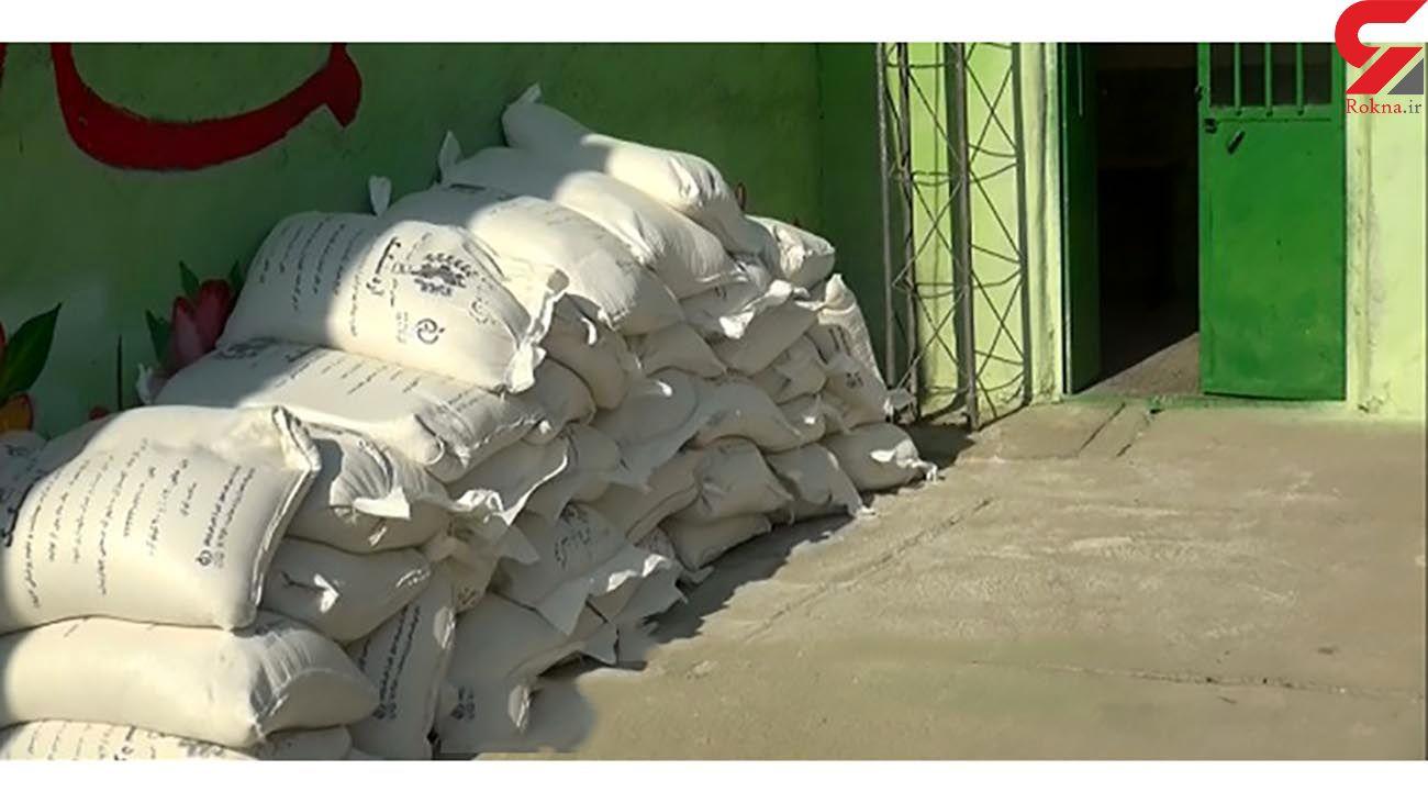 کشف بیش از 17 تن آرد قاچاق در مراغه