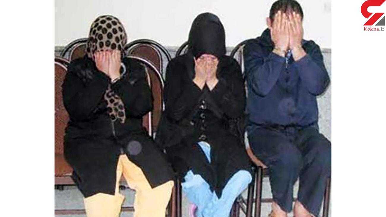 2 زن مازنی با آبروریزی خرج 4 مرد را می دادند