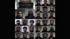 این 29 مرد مخوف می خواستند عاشورا را به هم بریزند + عکس بدون پوشش