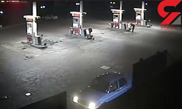اقدام وحشتناک 4 مرد با دختر جوان در نیمه شب پمپ بنزین + عکس