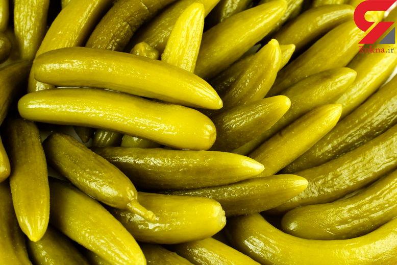 قیمت انواع زیتون و خیارشور در بازار