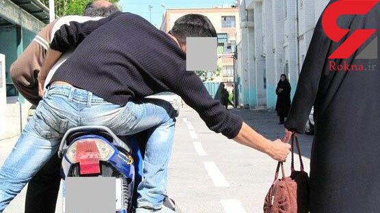 دستگیری کیف قاپ حرفه ای در مراغه + عکس