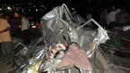 تصادف زنجیره ای آزادراه تهران- پردیس/ اسامی مصدومان + فیلم و عکس