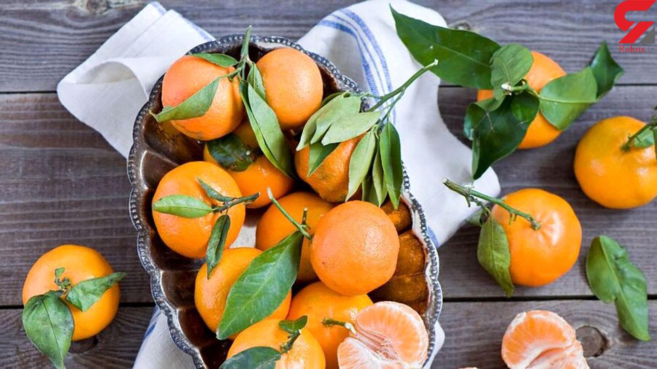 نارنگی های موجود در بازار را نخورید مضر است !