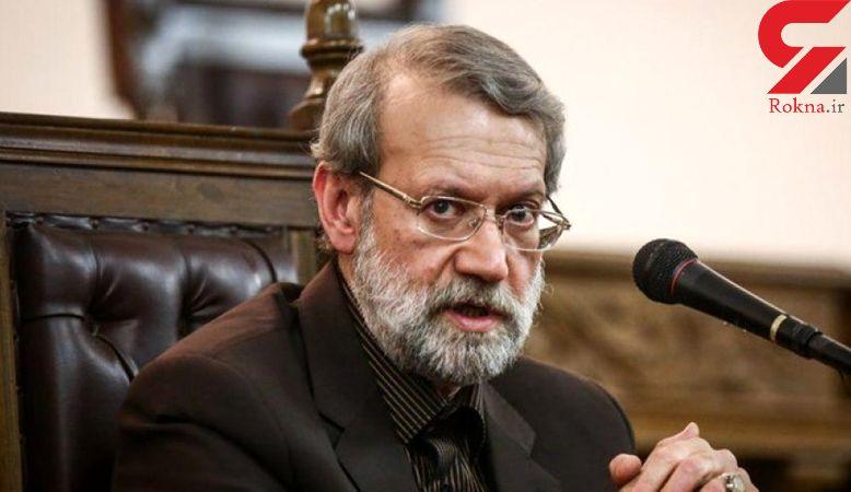لاریجانی: پاکستان برای آزادسازی گروگانهای ایرانی اقدام کند