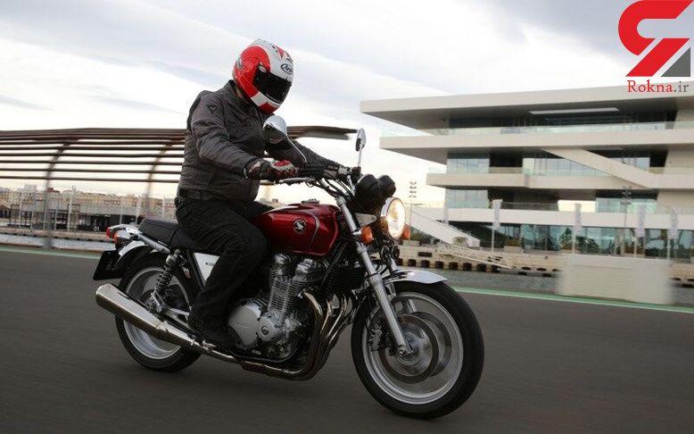 کشف موتور سیکلت 150 میلیون تومانی قاچاق در تاکستان