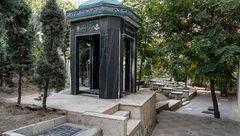 قبرستانی عجیب در بالاشهر تهران +تصاویر