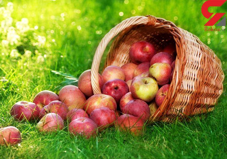 سیب و سفیدی دندان ها
