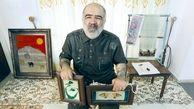 این مرد ایرانی  با دستهایش دنیا را میبیند + تصاویر