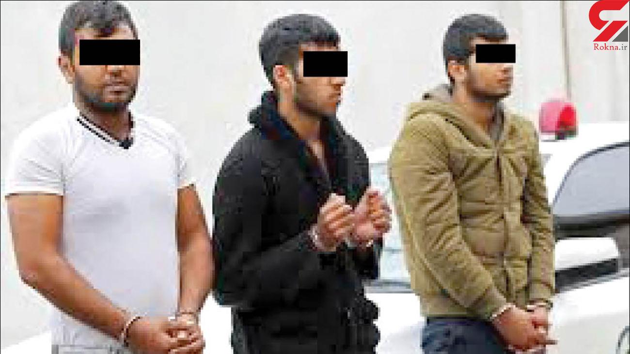 اعدام همزمان 2 برادر شیطان صفت باند برمودا در زندان مشهد + عکس