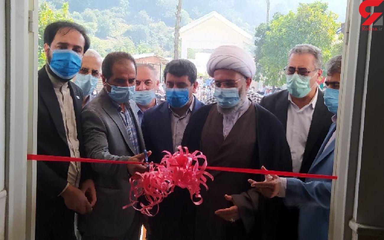 افتتاح دبستان سه کلاسه مرحوم طالشی در روستای دولت رودبار بندپی غربی
